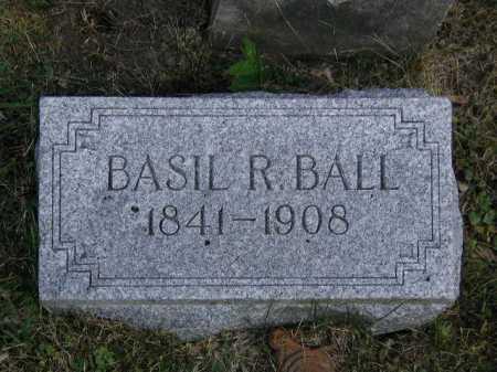 BALL, BASIL R - Douglas County, Nebraska | BASIL R BALL - Nebraska Gravestone Photos