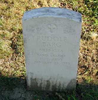 BARG, RUDOLF - Douglas County, Nebraska   RUDOLF BARG - Nebraska Gravestone Photos