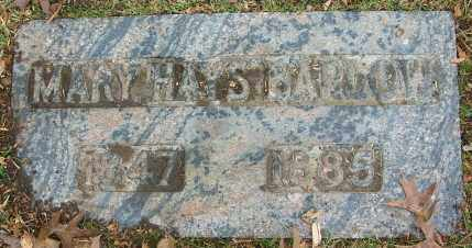 HAYS BARLOW, MARY - Douglas County, Nebraska | MARY HAYS BARLOW - Nebraska Gravestone Photos
