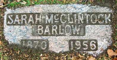 BARLOW, SARAH - Douglas County, Nebraska | SARAH BARLOW - Nebraska Gravestone Photos