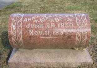 BAUER, ANNA MARIE - Douglas County, Nebraska | ANNA MARIE BAUER - Nebraska Gravestone Photos
