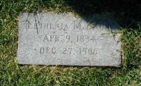 BAUM, LETHENIA M - Douglas County, Nebraska | LETHENIA M BAUM - Nebraska Gravestone Photos