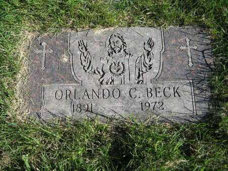 BECK, ORLANDO C - Douglas County, Nebraska | ORLANDO C BECK - Nebraska Gravestone Photos
