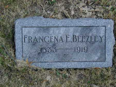 BEEZLEY, FRANCENA E - Douglas County, Nebraska | FRANCENA E BEEZLEY - Nebraska Gravestone Photos