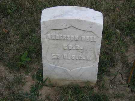 BELL, ANDERSON - Douglas County, Nebraska | ANDERSON BELL - Nebraska Gravestone Photos