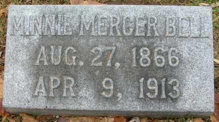 BELL, MINNIE - Douglas County, Nebraska | MINNIE BELL - Nebraska Gravestone Photos