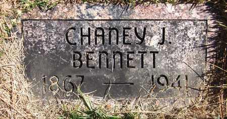 BENNETT, CHANEY JEFFRIES - Douglas County, Nebraska | CHANEY JEFFRIES BENNETT - Nebraska Gravestone Photos