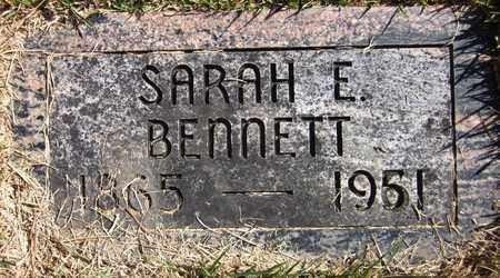 BENNETT, SARAH E. - Douglas County, Nebraska | SARAH E. BENNETT - Nebraska Gravestone Photos