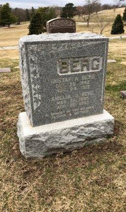 BERG, AMELIA U. - Douglas County, Nebraska | AMELIA U. BERG - Nebraska Gravestone Photos