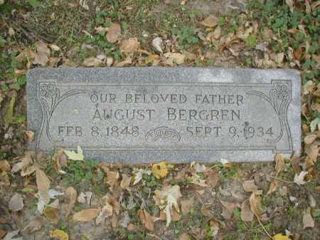 BERGREN, AUGUST - Douglas County, Nebraska | AUGUST BERGREN - Nebraska Gravestone Photos