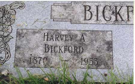 BICKFORD, HARVEY A. - Douglas County, Nebraska | HARVEY A. BICKFORD - Nebraska Gravestone Photos