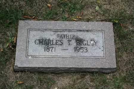 BIGLEY, CHARLES T. - Douglas County, Nebraska | CHARLES T. BIGLEY - Nebraska Gravestone Photos