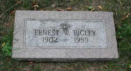 BIGLEY, ERNEST W. - Douglas County, Nebraska   ERNEST W. BIGLEY - Nebraska Gravestone Photos