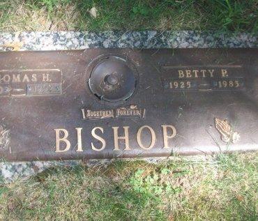 BISHOP, BETTY P - Douglas County, Nebraska | BETTY P BISHOP - Nebraska Gravestone Photos