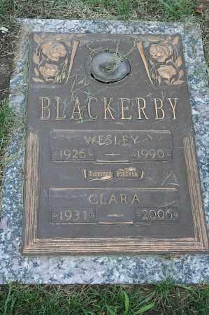 BLACKERBY, WESLEY - Douglas County, Nebraska | WESLEY BLACKERBY - Nebraska Gravestone Photos