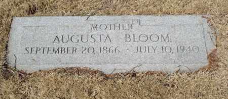 BLOOM, AUGUSTA - Douglas County, Nebraska | AUGUSTA BLOOM - Nebraska Gravestone Photos