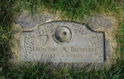 BLOWERS, LEONTINE A. - Douglas County, Nebraska | LEONTINE A. BLOWERS - Nebraska Gravestone Photos