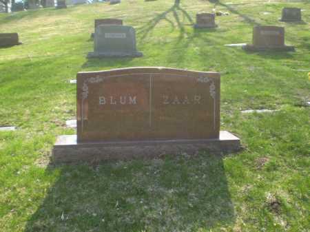 ZAAR, FAMILY - Douglas County, Nebraska | FAMILY ZAAR - Nebraska Gravestone Photos