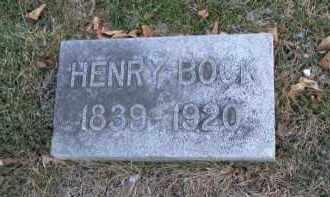 BOCK, HENRY - Douglas County, Nebraska | HENRY BOCK - Nebraska Gravestone Photos