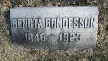 BONDESSON, BENGTA - Douglas County, Nebraska   BENGTA BONDESSON - Nebraska Gravestone Photos
