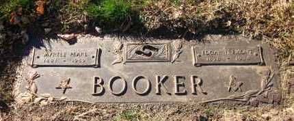 BOOKER, EDGAR FREMONT - Douglas County, Nebraska | EDGAR FREMONT BOOKER - Nebraska Gravestone Photos
