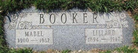 BOOKER, LILLARD - Douglas County, Nebraska | LILLARD BOOKER - Nebraska Gravestone Photos