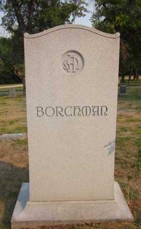 BORCHMAN, FAMILY - Douglas County, Nebraska | FAMILY BORCHMAN - Nebraska Gravestone Photos