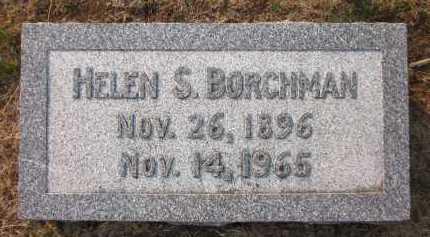 BORCHMAN, HELEN S. - Douglas County, Nebraska | HELEN S. BORCHMAN - Nebraska Gravestone Photos