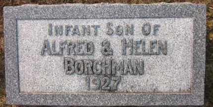 BORCHMAN, INFANT SON - Douglas County, Nebraska | INFANT SON BORCHMAN - Nebraska Gravestone Photos
