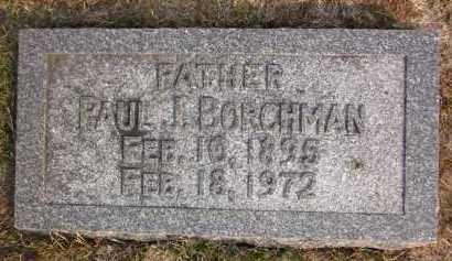 BORCHMAN, PAUL J. - Douglas County, Nebraska | PAUL J. BORCHMAN - Nebraska Gravestone Photos