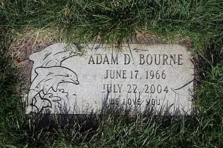 BOURNE, ADAM D - Douglas County, Nebraska | ADAM D BOURNE - Nebraska Gravestone Photos