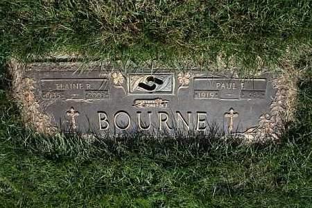 BOURNE, ELAINE R. - Douglas County, Nebraska | ELAINE R. BOURNE - Nebraska Gravestone Photos