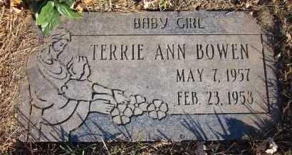 BOWEN, TERRIE ANN - Douglas County, Nebraska | TERRIE ANN BOWEN - Nebraska Gravestone Photos