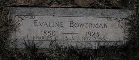 BOWERMAN, EVALINE - Douglas County, Nebraska | EVALINE BOWERMAN - Nebraska Gravestone Photos