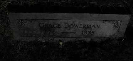 BOWERMAN, GRACE - Douglas County, Nebraska | GRACE BOWERMAN - Nebraska Gravestone Photos