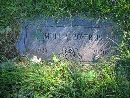 BOYER, SAMUEL A - Douglas County, Nebraska | SAMUEL A BOYER - Nebraska Gravestone Photos