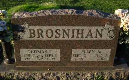 BROSNIHAN, ELLEN M. - Douglas County, Nebraska   ELLEN M. BROSNIHAN - Nebraska Gravestone Photos