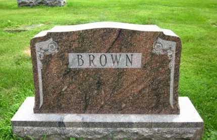 BROWN, FAMILY - Douglas County, Nebraska | FAMILY BROWN - Nebraska Gravestone Photos