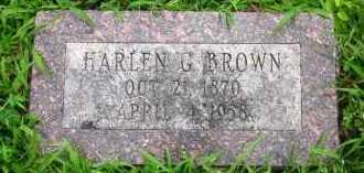 BROWN, HARLEN G. - Douglas County, Nebraska | HARLEN G. BROWN - Nebraska Gravestone Photos