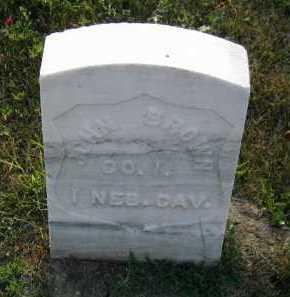 BROWN, JOHN - Douglas County, Nebraska   JOHN BROWN - Nebraska Gravestone Photos