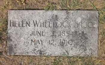BRUCE, HELEN ELIZABETH - Douglas County, Nebraska | HELEN ELIZABETH BRUCE - Nebraska Gravestone Photos