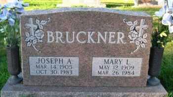 BRUCKNER, JOSEPH A - Douglas County, Nebraska | JOSEPH A BRUCKNER - Nebraska Gravestone Photos