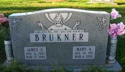 BRUKNER, MARY A - Douglas County, Nebraska | MARY A BRUKNER - Nebraska Gravestone Photos
