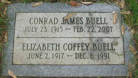 BUELL, CONRAD JAMES - Douglas County, Nebraska | CONRAD JAMES BUELL - Nebraska Gravestone Photos