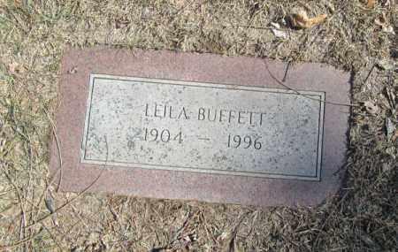 BUFFETT, LEILA - Douglas County, Nebraska | LEILA BUFFETT - Nebraska Gravestone Photos