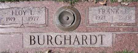BURGHARDT, FLOY - Douglas County, Nebraska | FLOY BURGHARDT - Nebraska Gravestone Photos