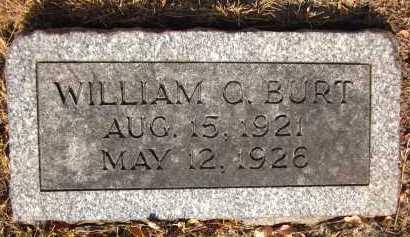 BURT, WILLIAM C. - Douglas County, Nebraska | WILLIAM C. BURT - Nebraska Gravestone Photos