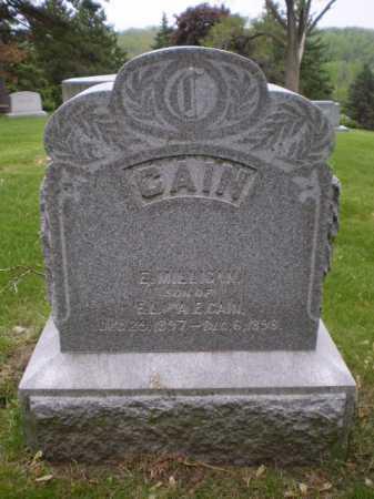 CAIN, EDWARD MILLIGAN BOYD - Douglas County, Nebraska | EDWARD MILLIGAN BOYD CAIN - Nebraska Gravestone Photos