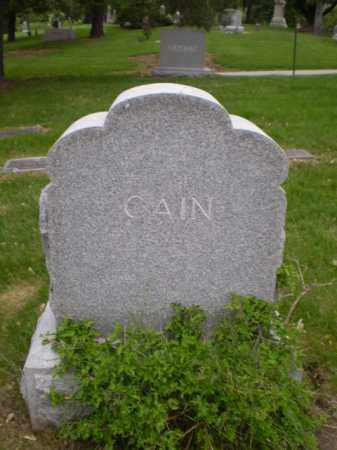 CAIN, FAMILY - Douglas County, Nebraska | FAMILY CAIN - Nebraska Gravestone Photos