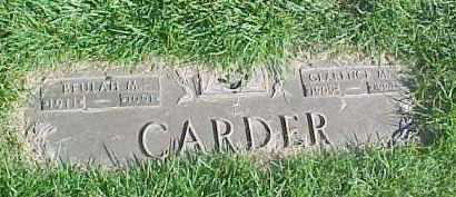 CARDER, CLARENCE MAYNARD - Douglas County, Nebraska | CLARENCE MAYNARD CARDER - Nebraska Gravestone Photos
